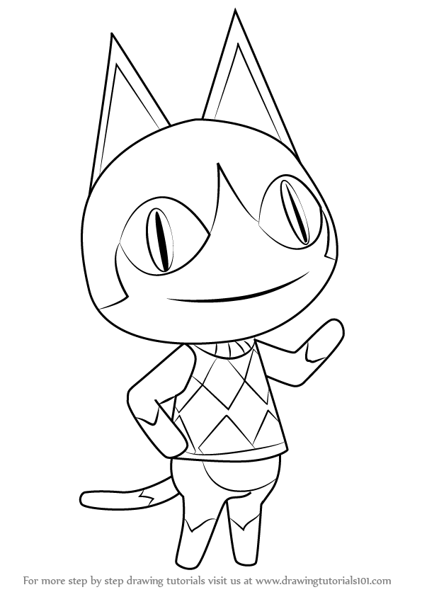 Animal Crossing Drawing