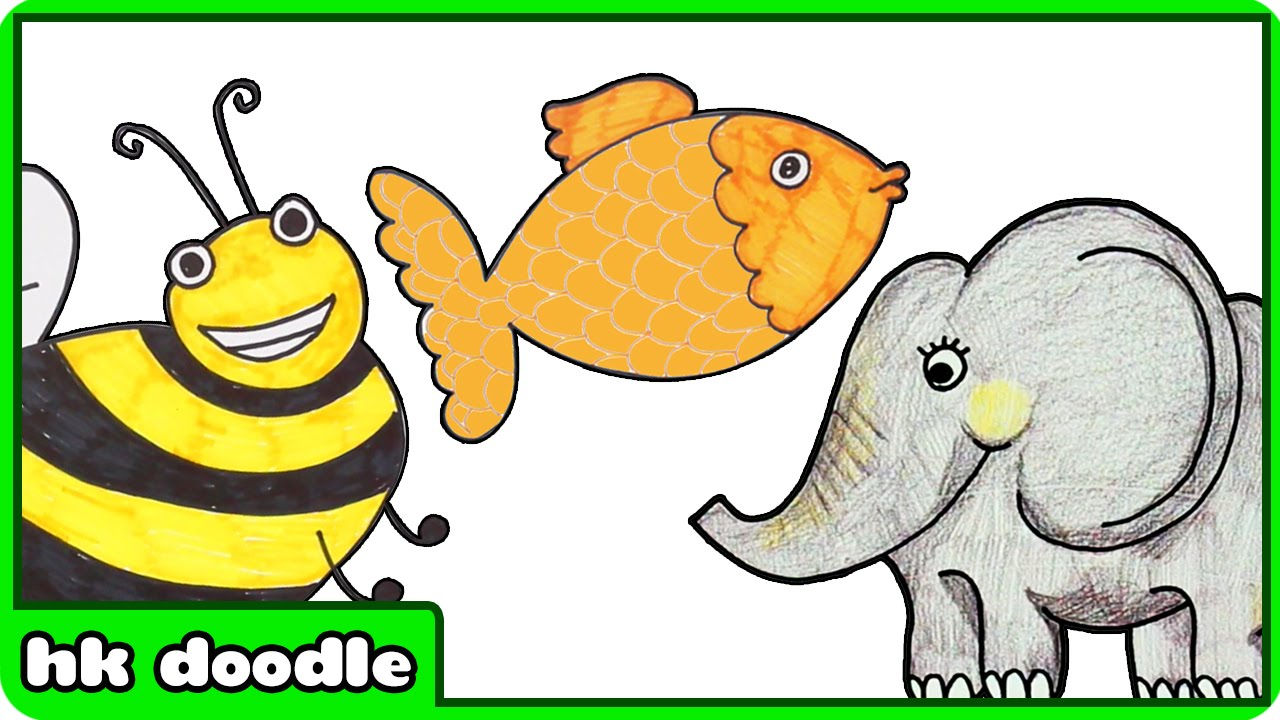 Animal Drawing For Children