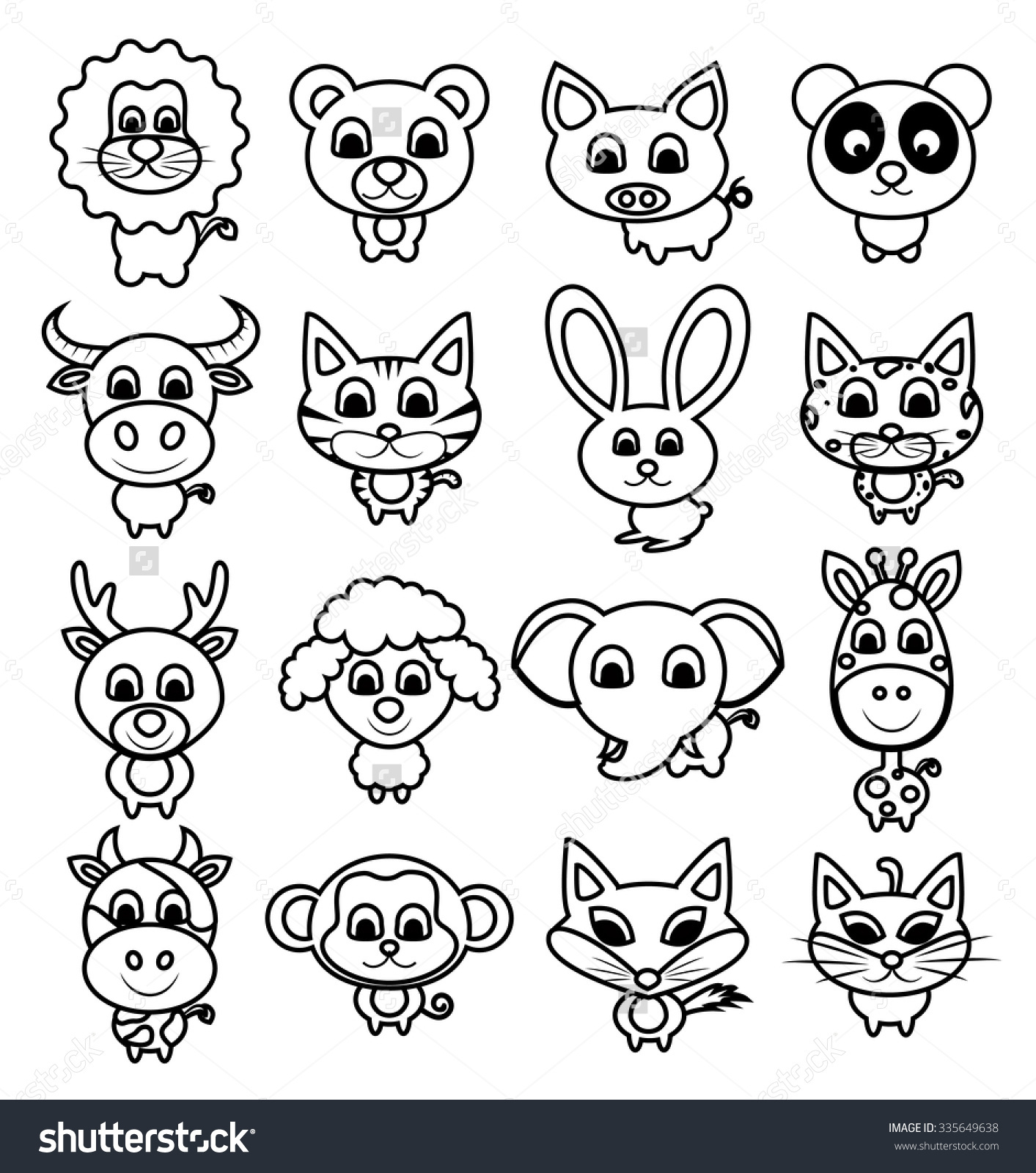 1413x1600 Baby Animal Drawing Cute Ideas Drawings And Cartoons - Animal Drawing Ideas