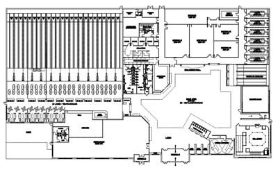 400x248 bowling center feasibility and design - Bowling Alley Drawing