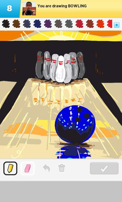 500x822 bowling drawings - Bowling Alley Drawing