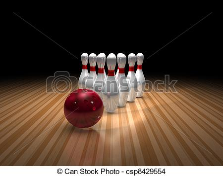 450x357 bowling ball and ten pins a bowling ball and pins sitting on lane - Bowling Alley Drawing