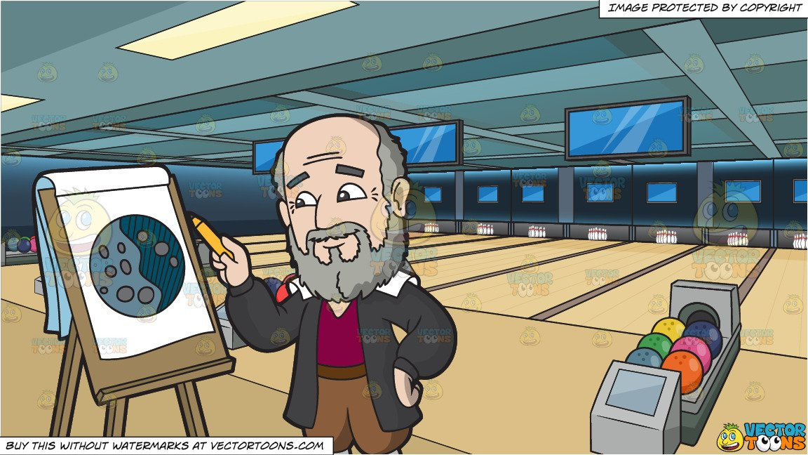 1152x648 galileo galilei drawing a moon and bowling alley background - Bowling Alley Drawing