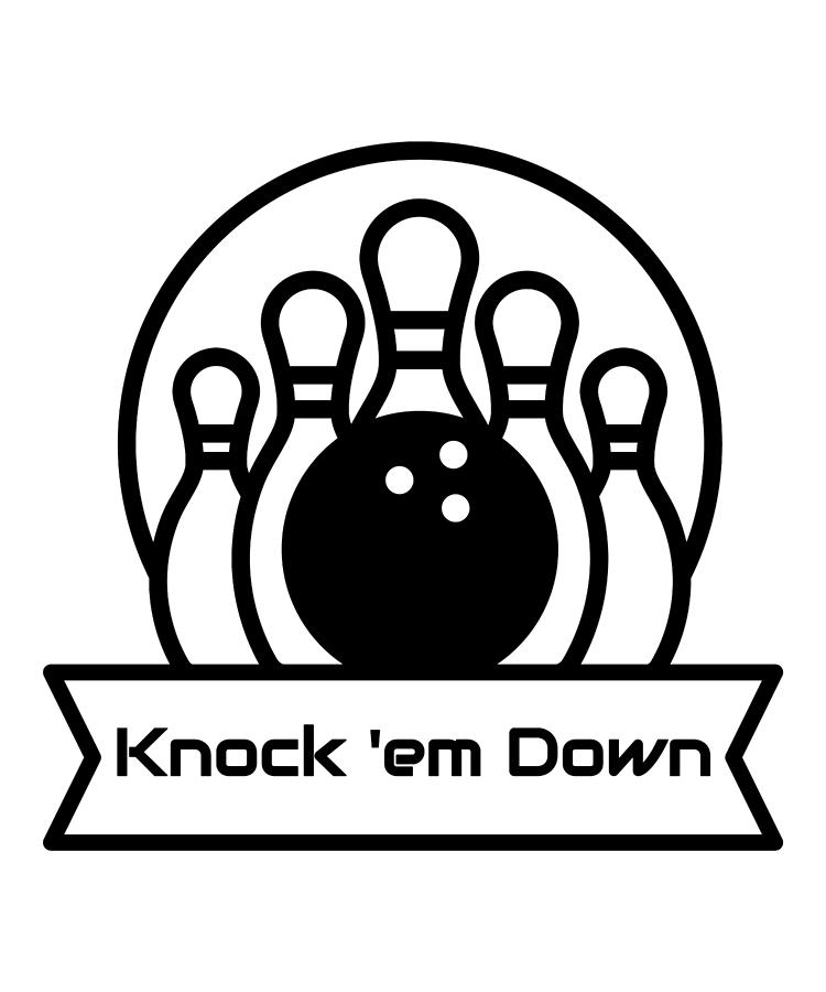 750x900 bowling knock em down bowler bowling pins bowling ball - Bowling Ball Drawing