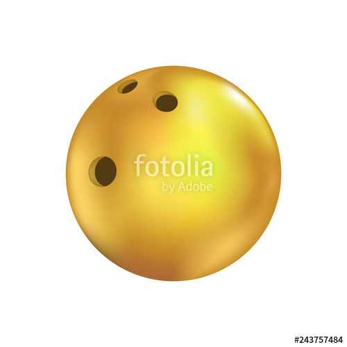 500x500 yellow bowling ball draw stock image and royalty free vector - Bowling Ball Drawing
