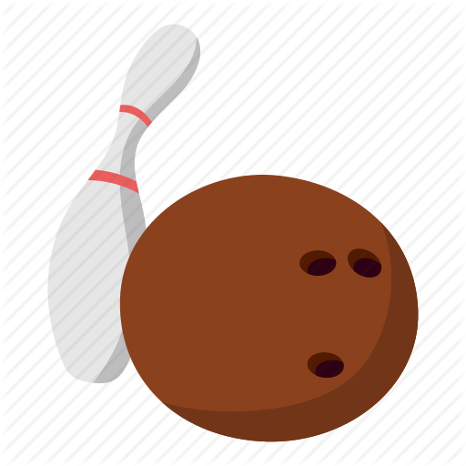 512x512 ball, bowling, drawing, fun, skittle, sport, white icon - Bowling Ball Drawing