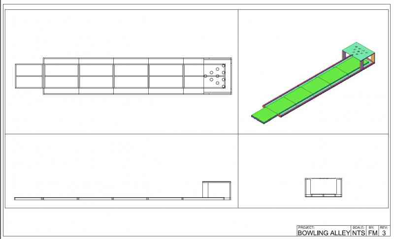 800x486 how to build your own backyard bowling alley - Bowling Lane Drawing
