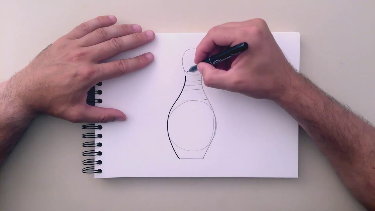 1280x720 how to draw a bowling pin - Bowling Lane Drawing