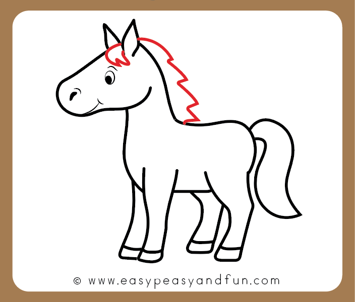 Cute Horse Drawings At Paintingvalley Com Explore