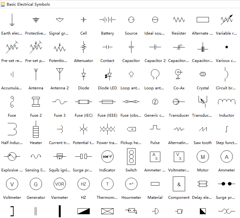 electrical drawing symbols at explore. Black Bedroom Furniture Sets. Home Design Ideas