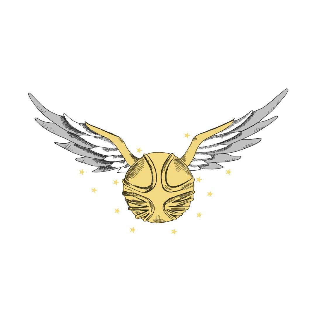 picture relating to Golden Snitch Printable referred to as Golden Snitch Drawing at  Investigate