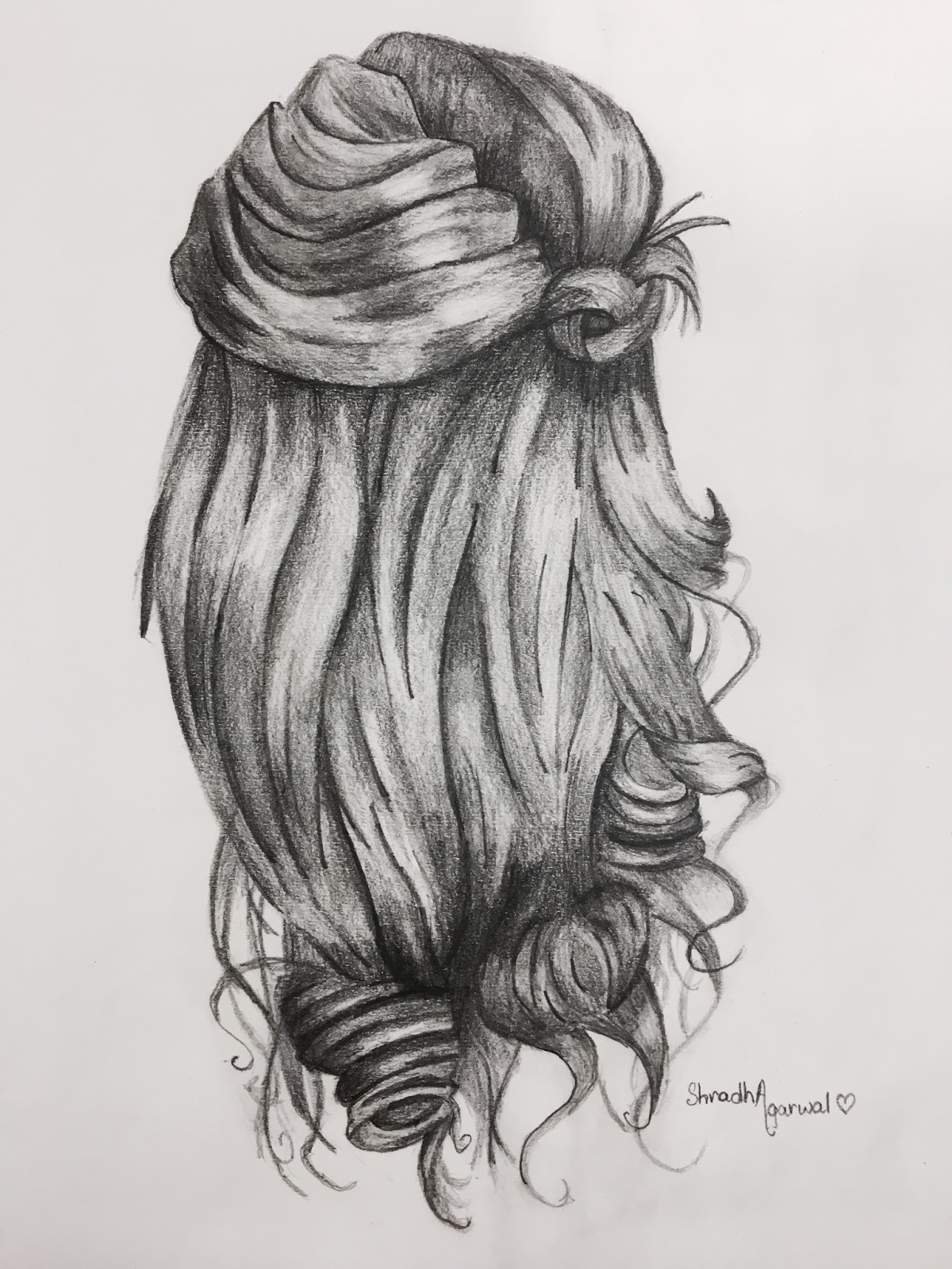 Hair pencil drawing at paintingvalley com explore collection of