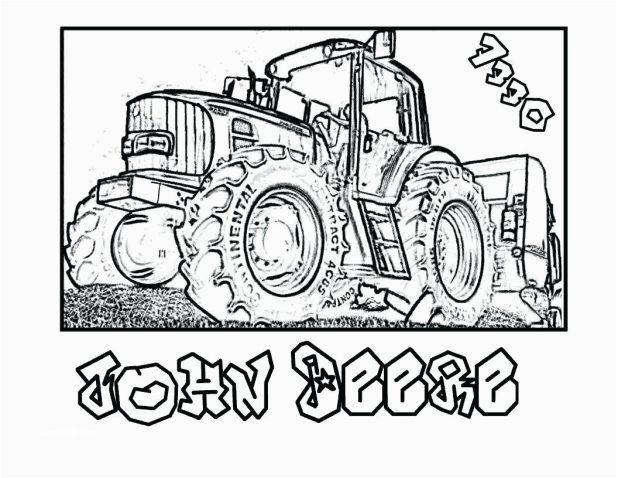 John Deere Tractor Drawing at PaintingValley com | Explore