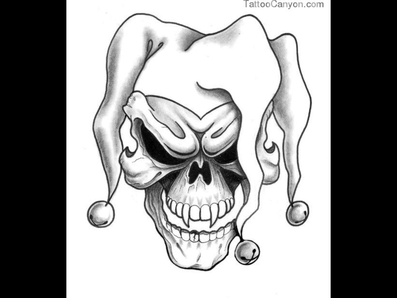 c8ee1e1b580b1 1280x960 Joker Tattoo Designs, Ideas, Pictures And Images - Joker Tattoo  Drawing