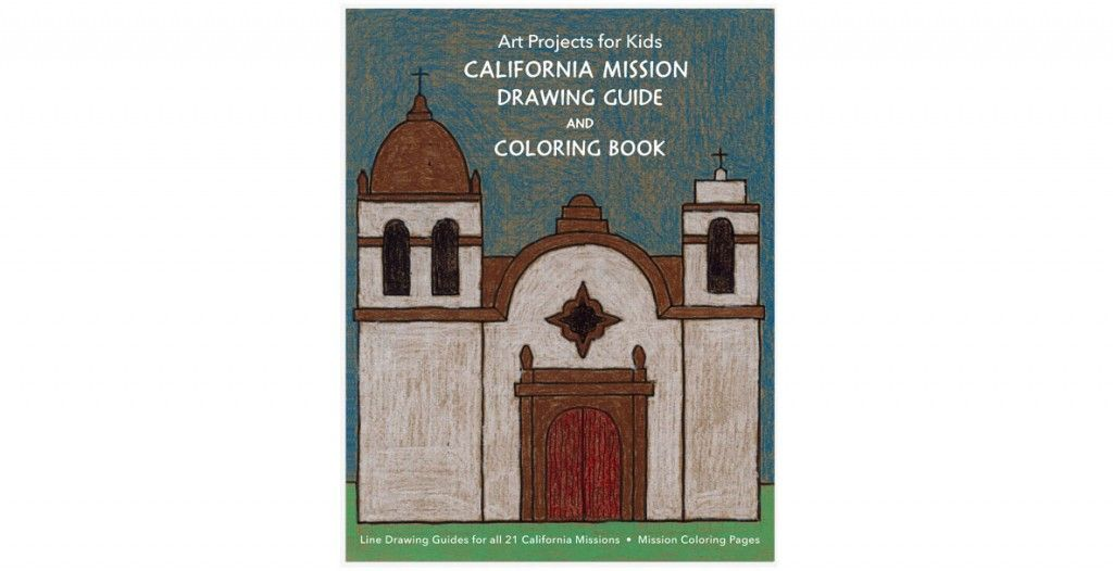 1024x526 mission drawing guide learn how to draw all the california - Mission Drawing