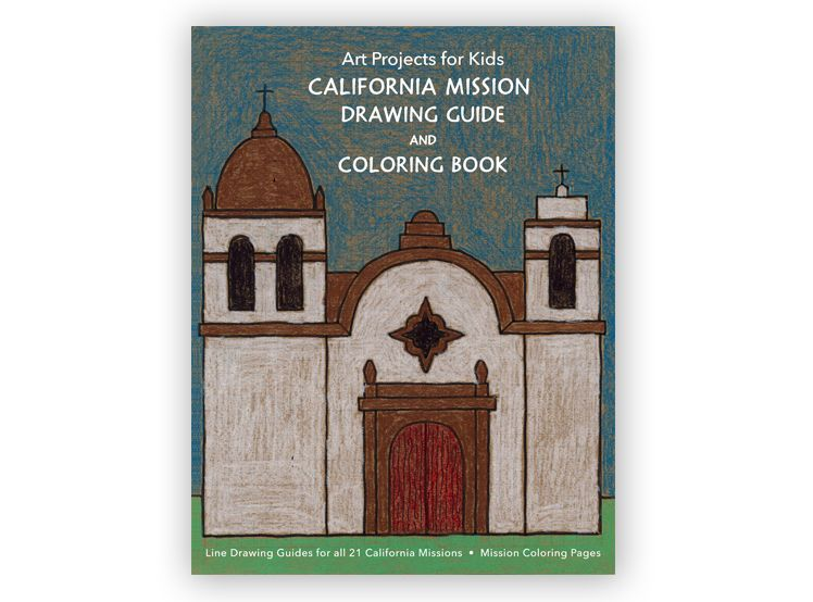 748x554 california missions drawing guide apfk pdf shop california - Mission Drawing