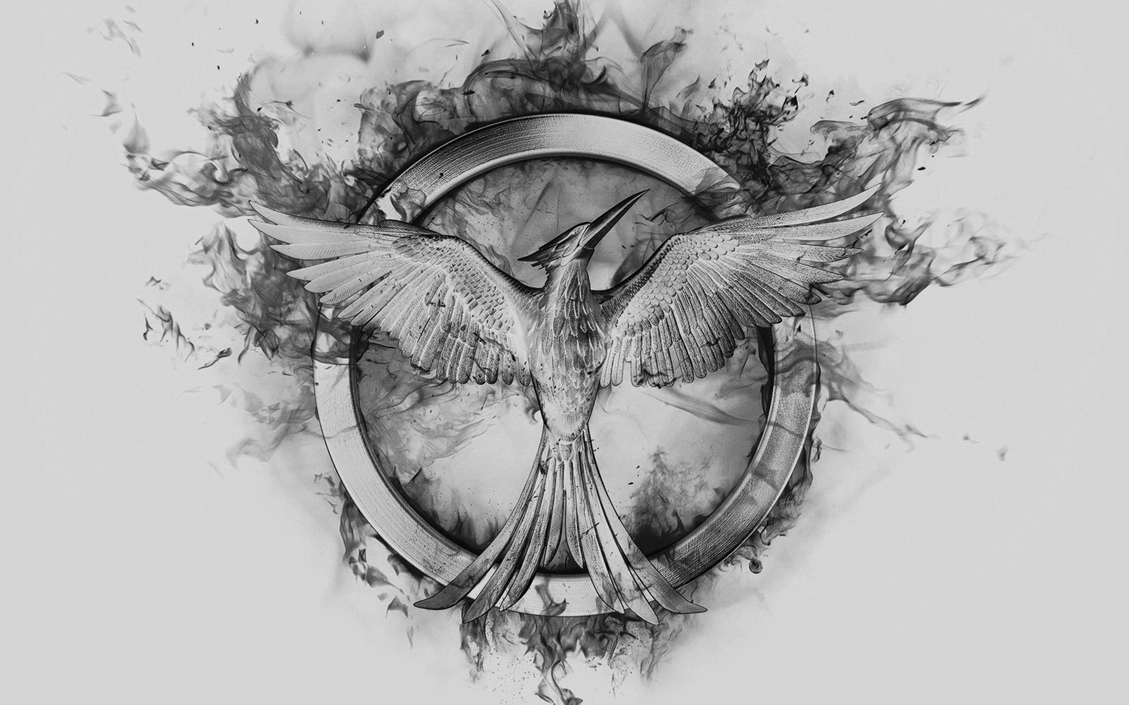Mockingjay Drawing