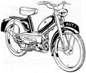 300x256 raleigh mopeds a spotter's guide - Moped Drawing
