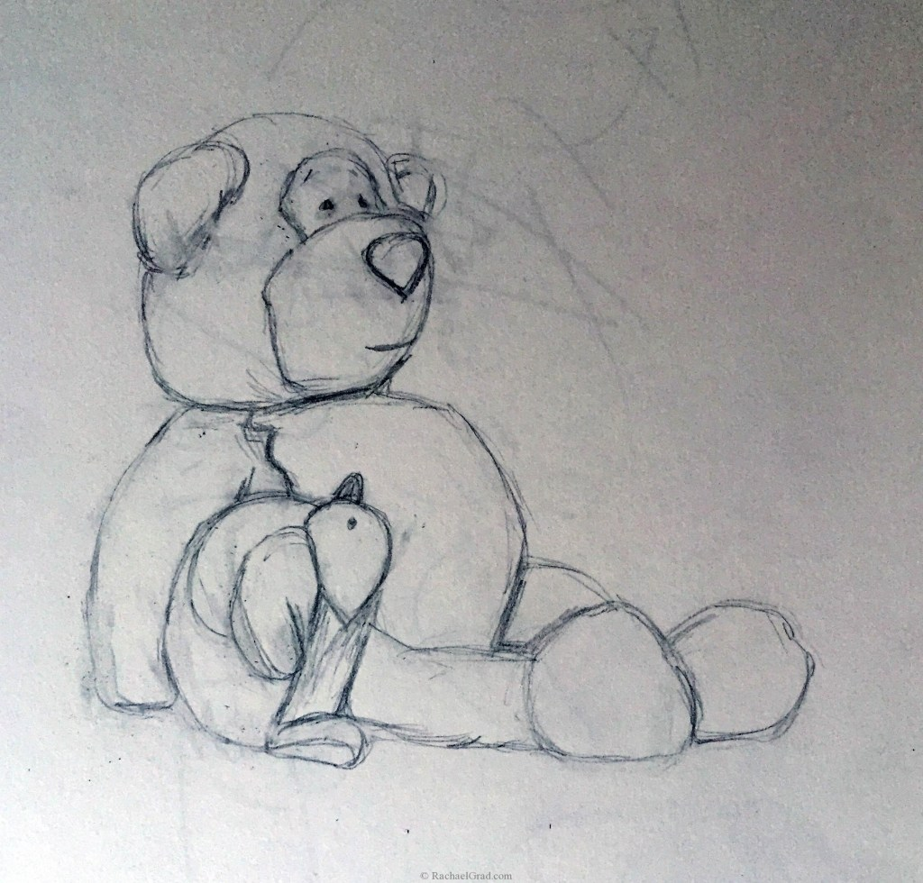 Teddy Bear Drawings Pencil