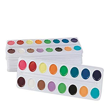 342x342 Color Splash! Watercolor Refill Trays Industrial - Color Splash Watercolor