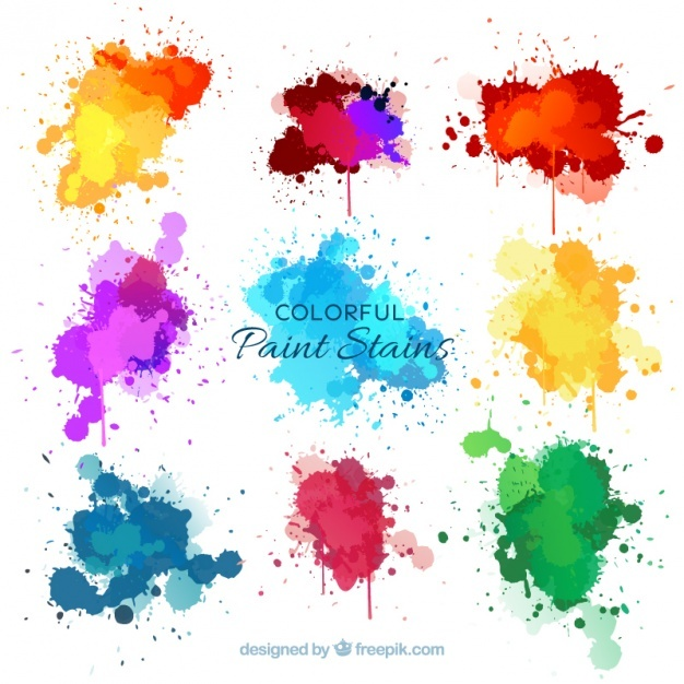 626x626 Color Splash Vectors, Photos And Psd Files Free Download - Color Splash Watercolor