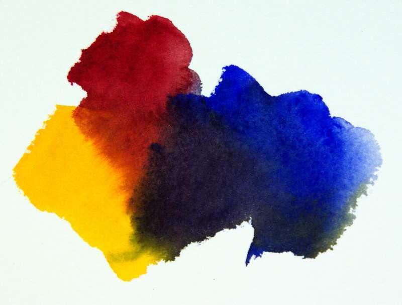 800x606 Color Mixing Formula,mixing Bright Versus Dull Watercolors - Color Watercolor