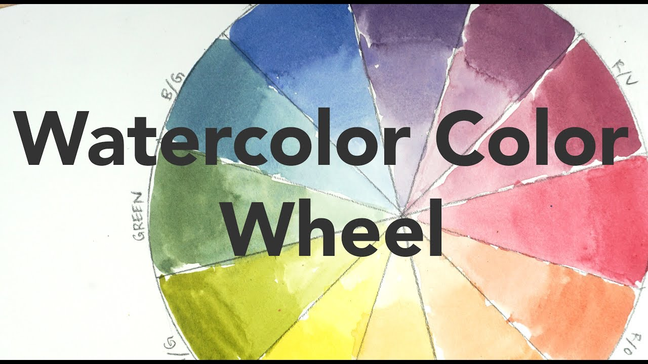 1280x720 Color Mixing Lesson For Beginners - Color Watercolor