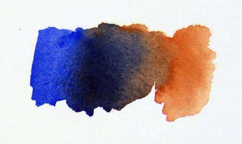800x477 Earth Watercolors And Color Mixing.watercolor Painting - Color Watercolor