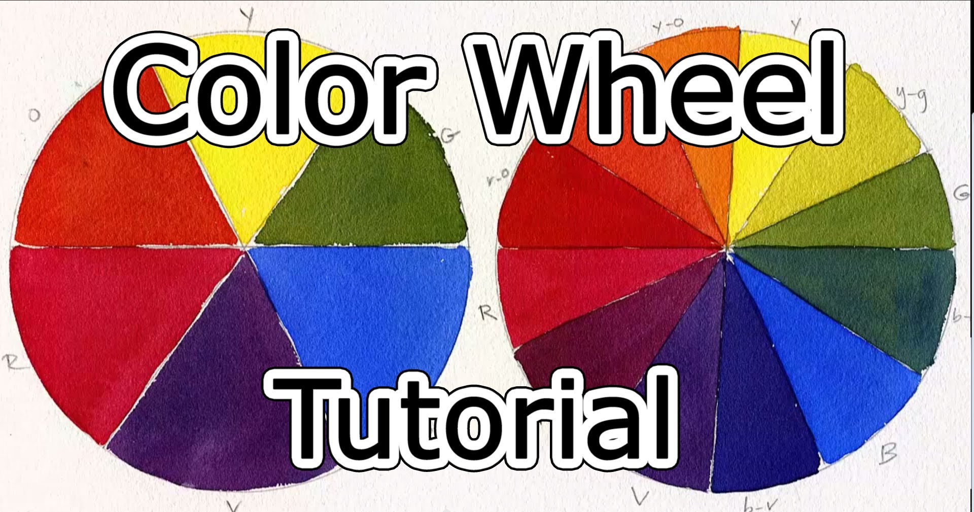 1920x1010 Color Wheel Tutorial - Color Wheel For Watercolor Painting