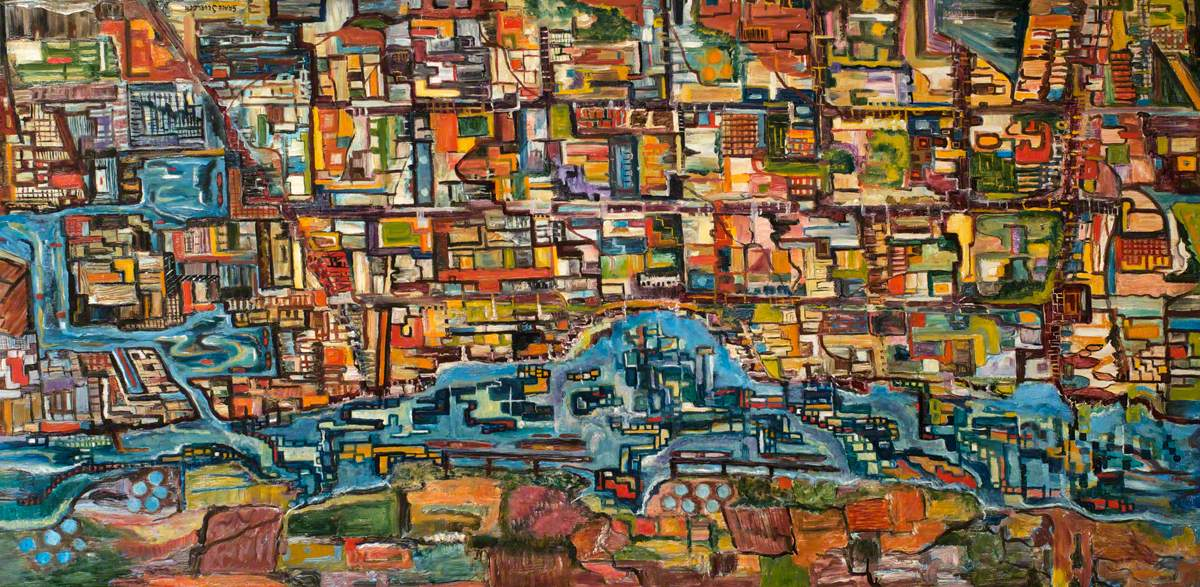 1200x587 Bird's Eye View Art Uk - Birds Eye View Painting