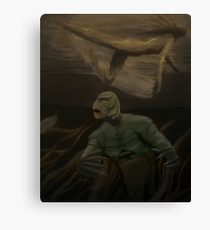 210x230 Creature From The Black Lagoon Painting Amp Mixed Media Canvas - Creature From The Black Lagoon Painting