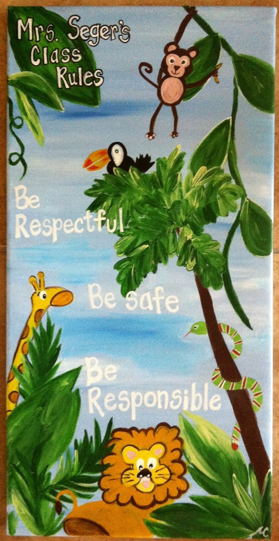 Jungle Painting For Kids