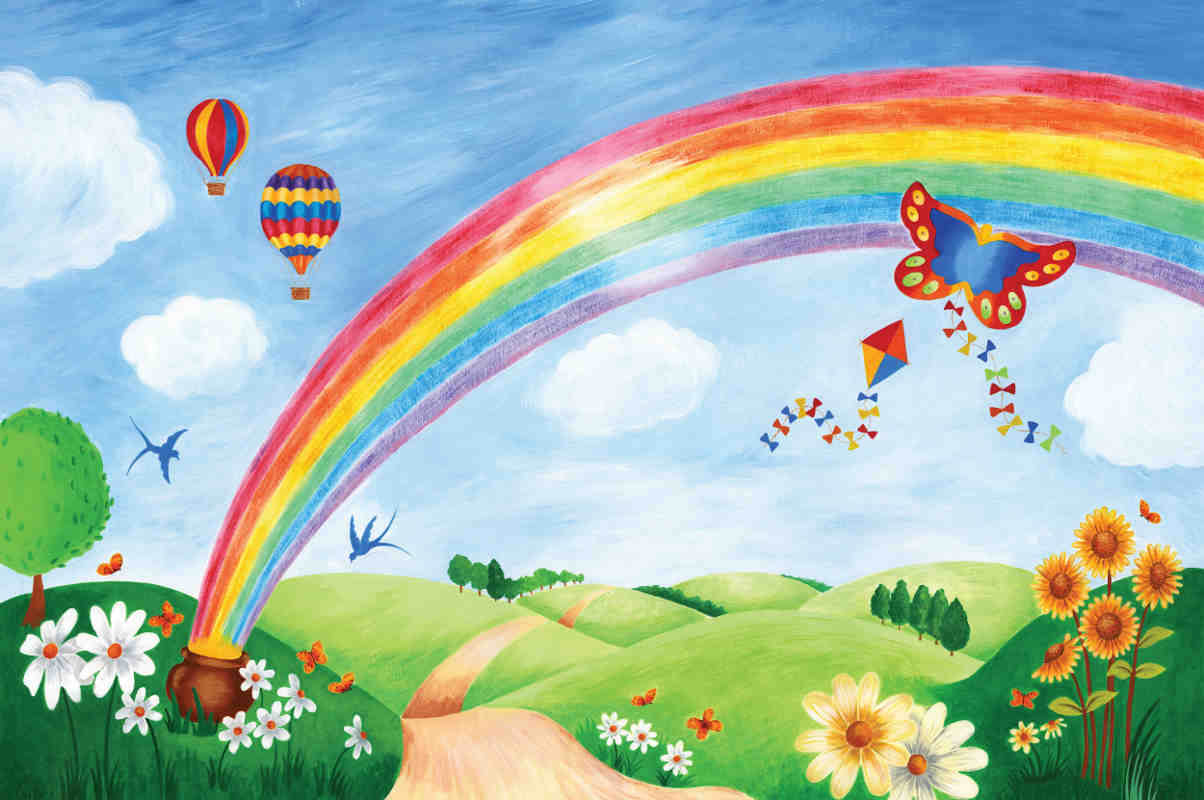 Rainbow Painting For Kids At Paintingvalley Com Explore