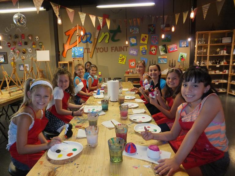 Summer Camp Painting