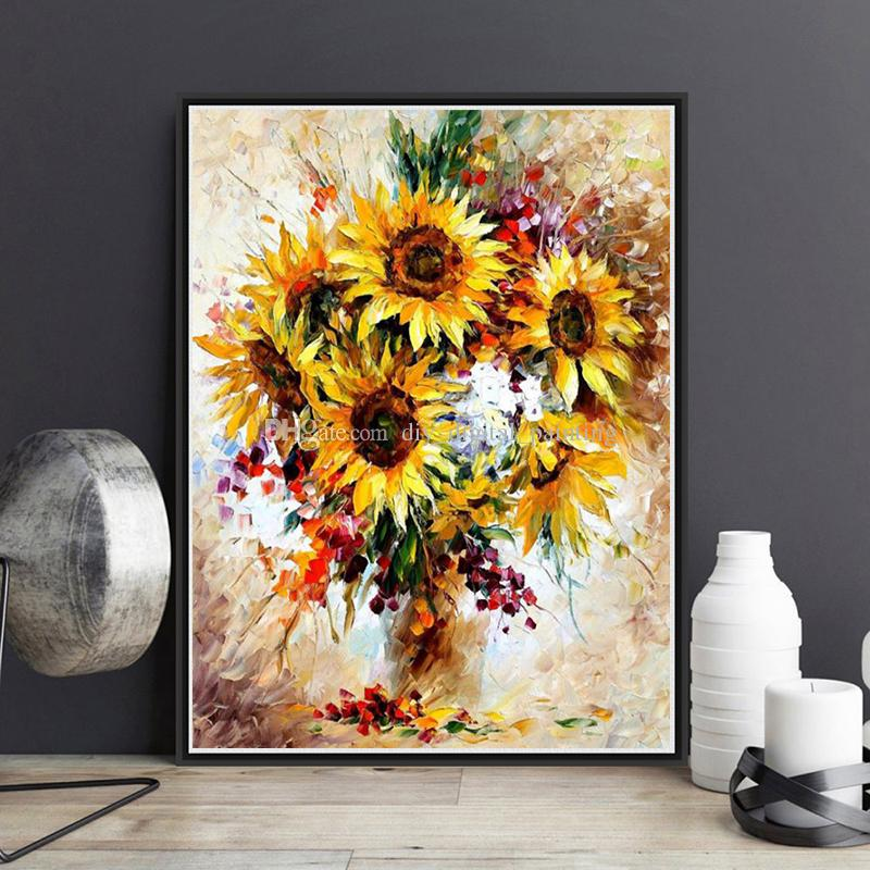 Sunflower Painting Images