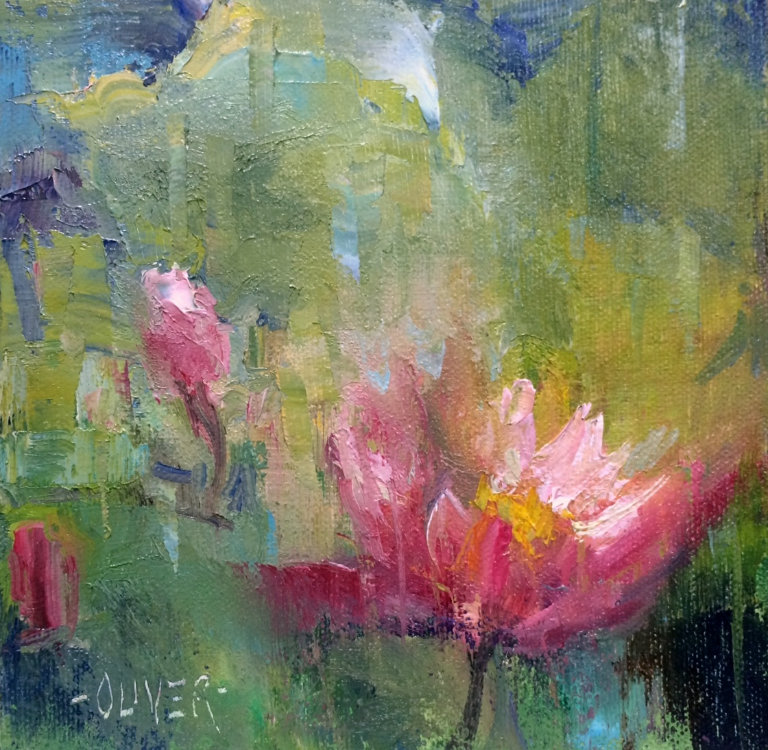 The Water Lilies Painting
