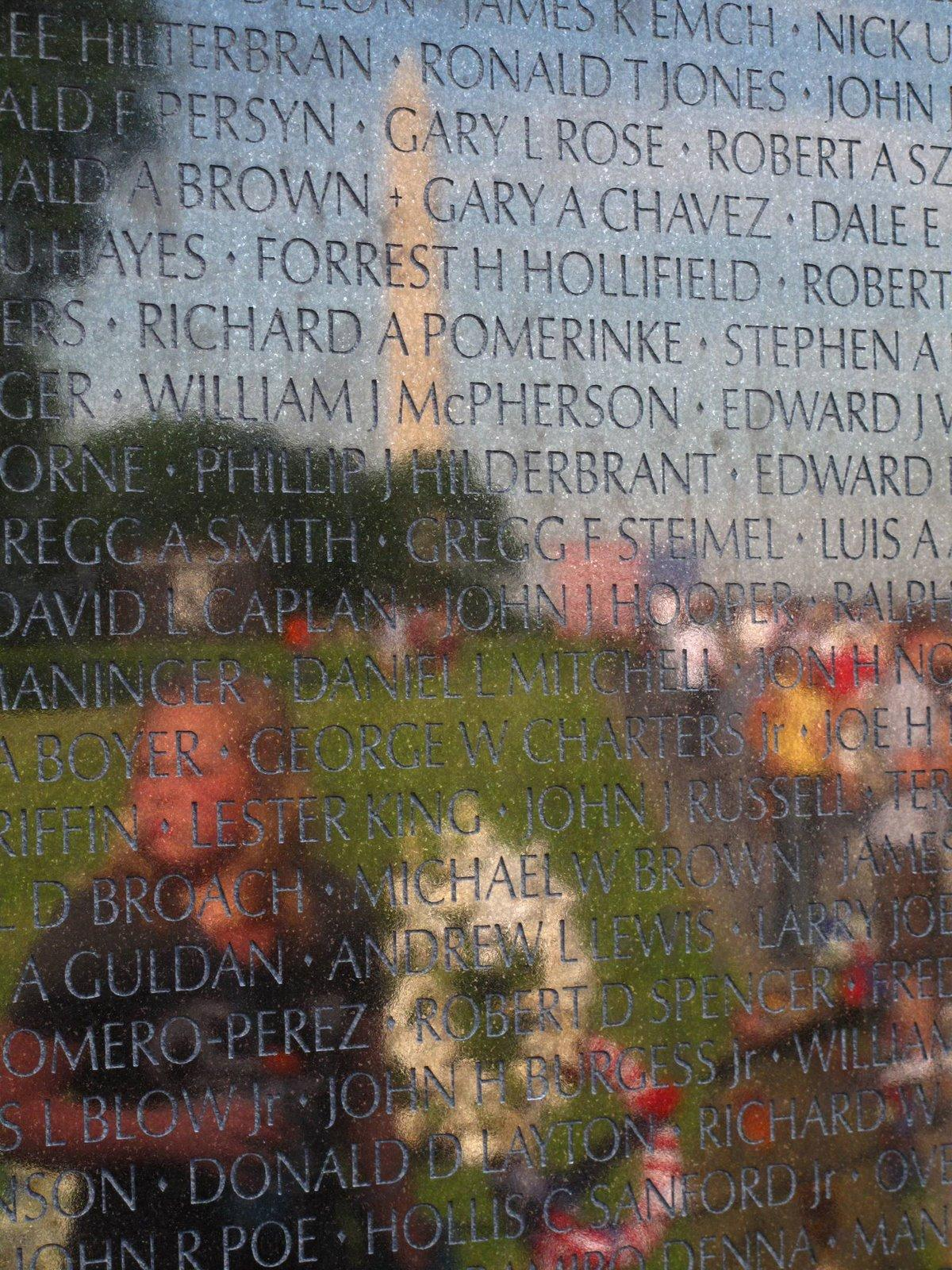 Vietnam Memorial Wall Painting
