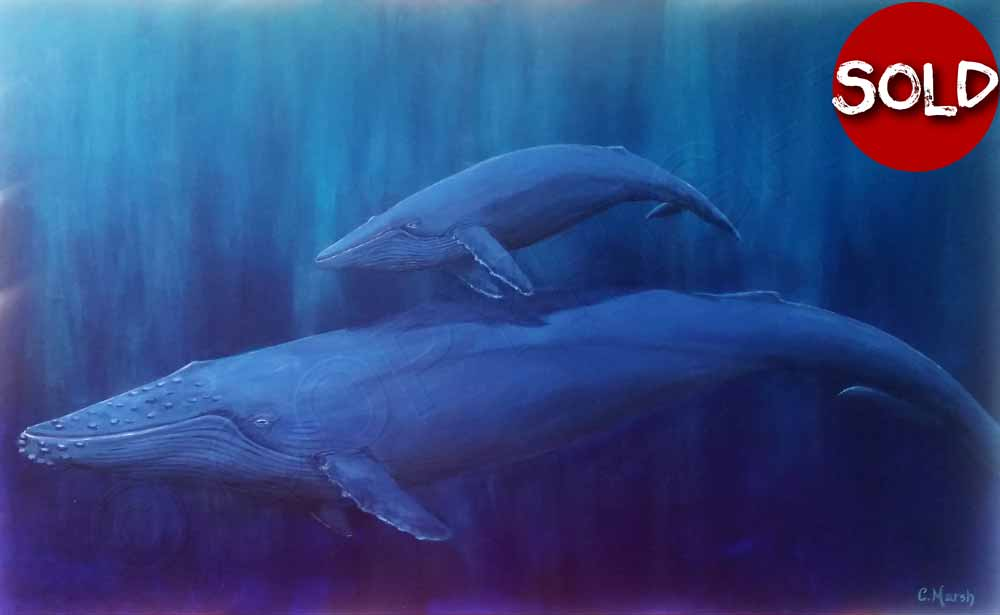 1000x615 Art Commissions Art Request View Art Commissions View Art - Whale And Ship Painting