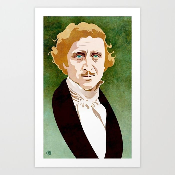 700x700 Young Frankenstein Art Print By Kimhoffnagle Society6 - Young Frankenstein Painting
