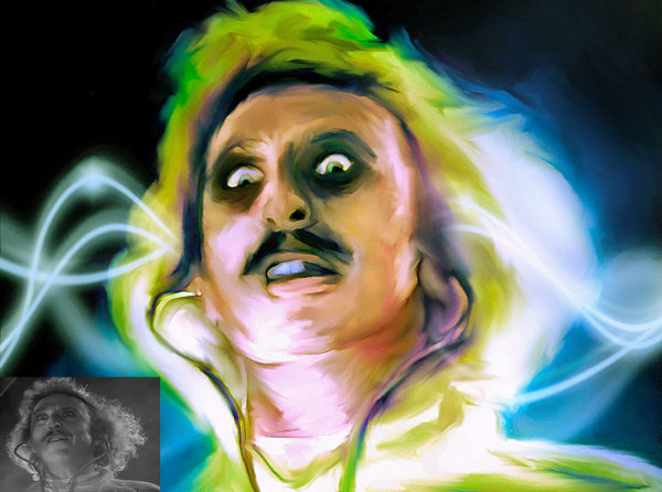 600x446 Young Frankenstein By Rubyjune - Young Frankenstein Painting