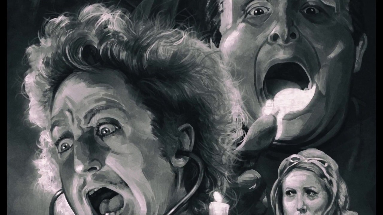 1280x720 Young Frankenstein Movie Poster Painting - Young Frankenstein Painting