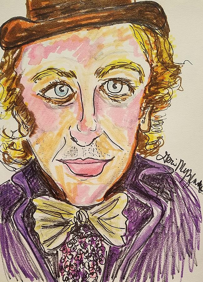 649x900 Gene Wilder Painting A Prop Painting Of Gene Wilder From Young - Young Frankenstein Painting