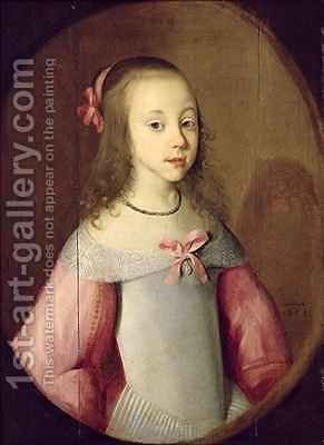 291x400 Portrait Of A Young Girl C. Hastenburg Reproduction 1st Art Gallery - Young Girl Painting