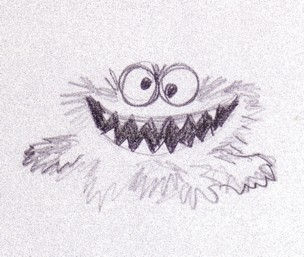 Cookie Monster Sketch at PaintingValley com | Explore