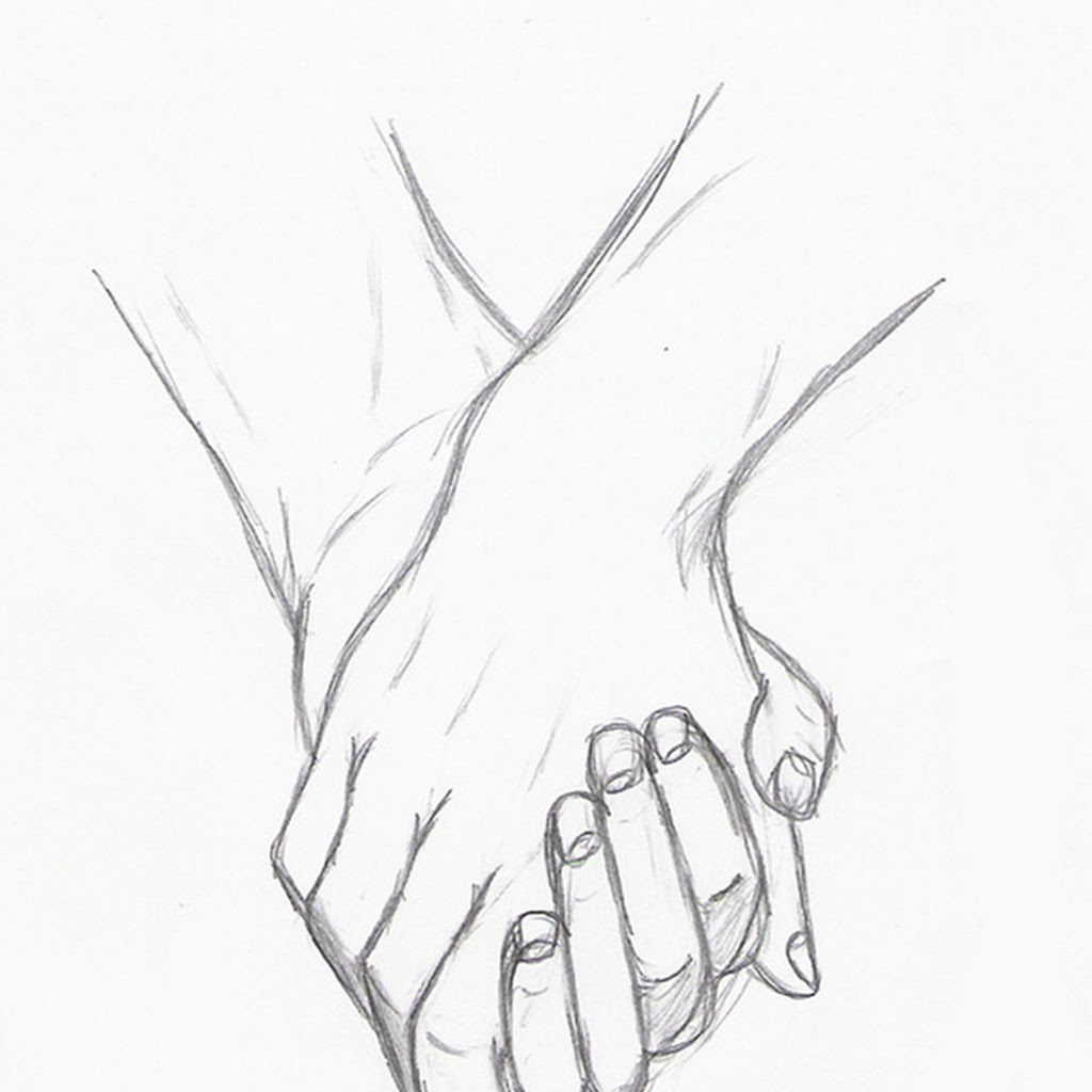 1024x1024 pencil sketches of couples holding hands anime couples pencil cute anime sketches
