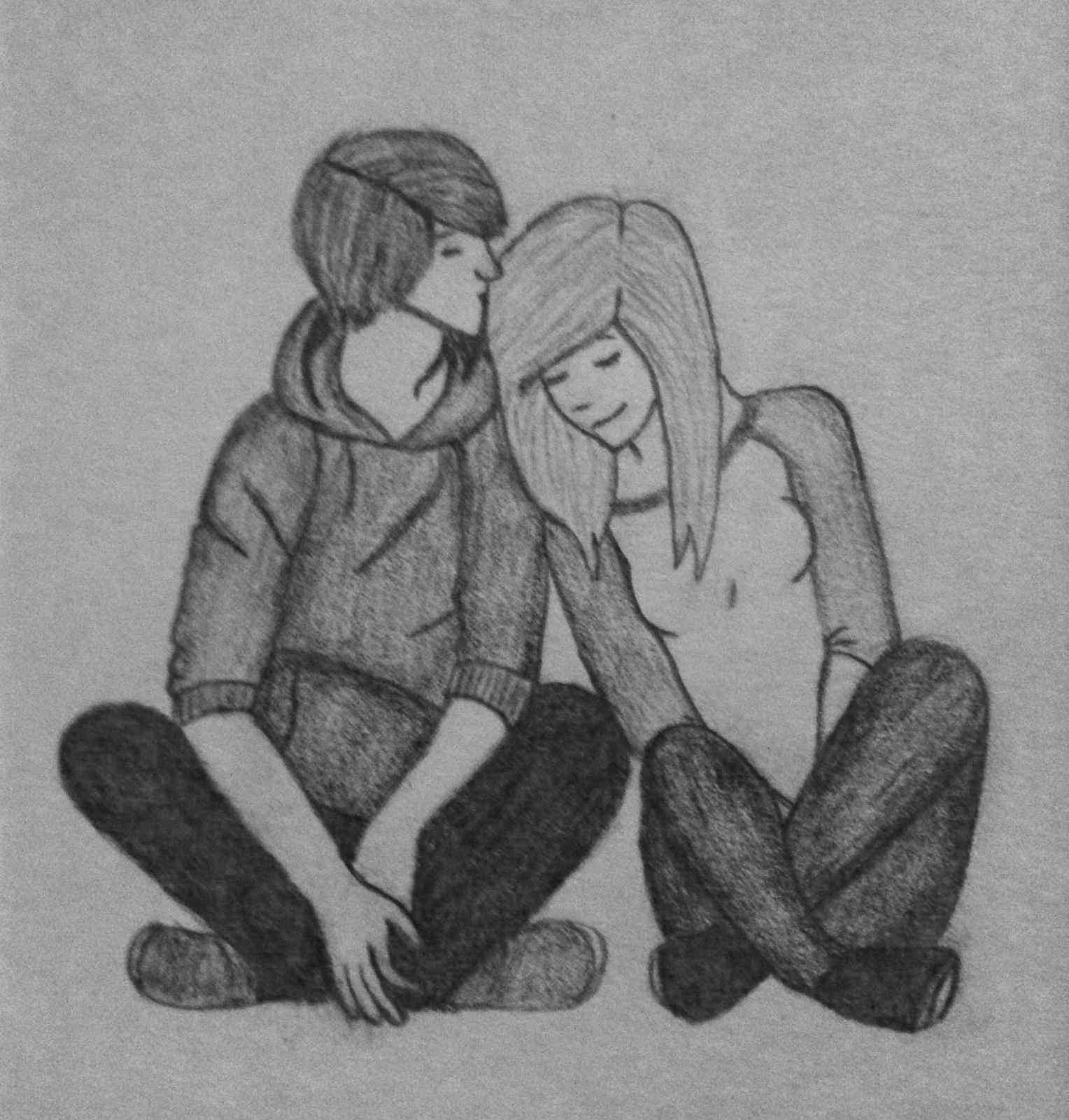 Cute Love Drawings In Pencil Download Pencil Sketch