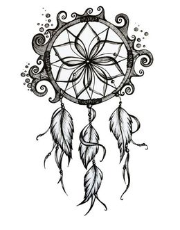 Dream Catcher Sketch At Paintingvalleycom Explore Collection Of