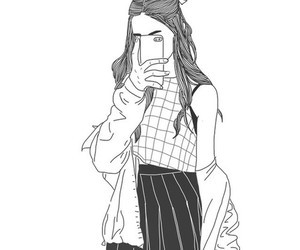 Girl Sketch Tumblr