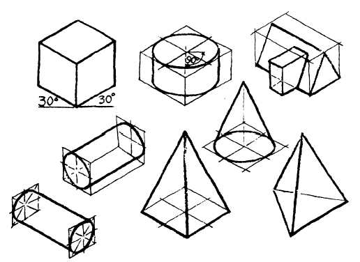 516x376 Overlay Sketches - Isometric Pictorial Sketch