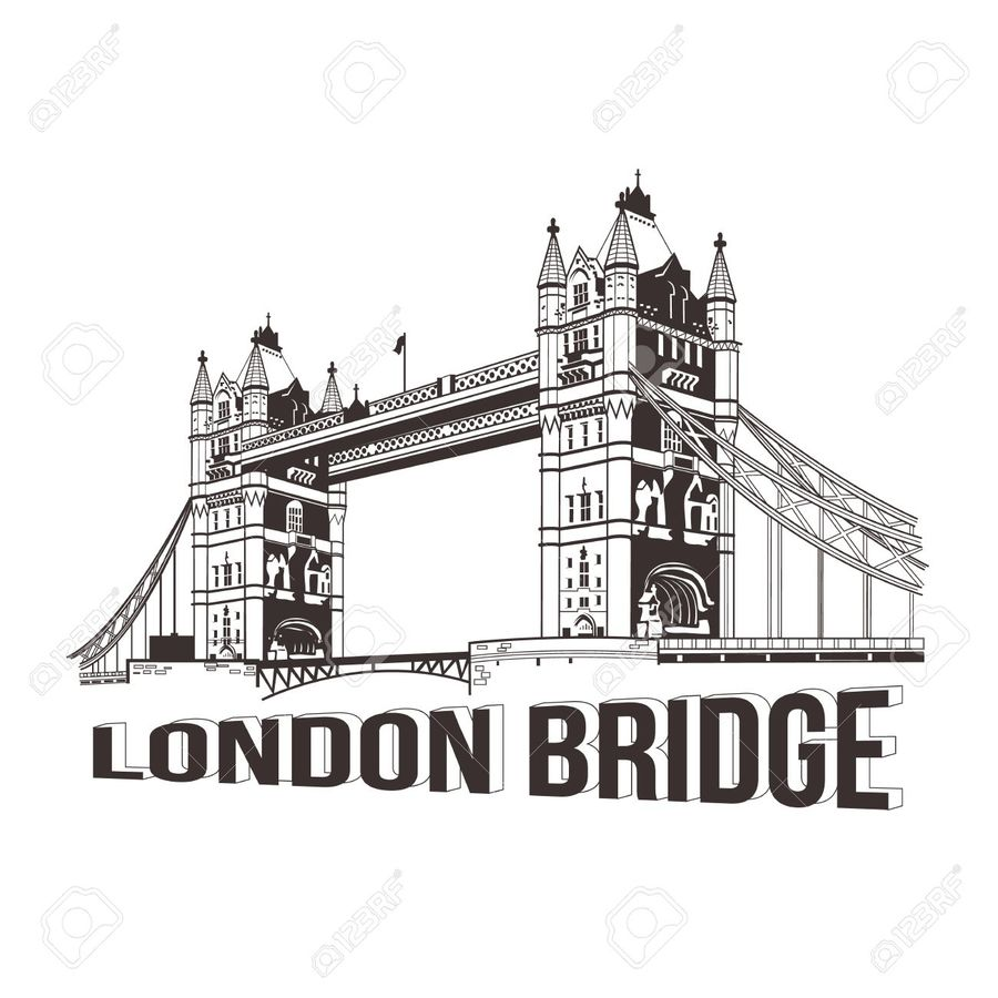 London Bridge Sketch At Paintingvalley Com Explore